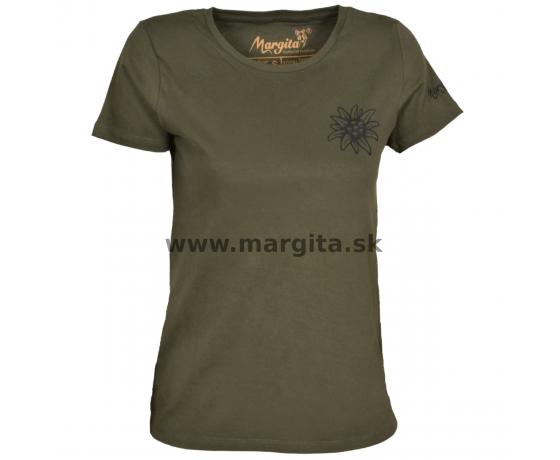 Dámske tričko MARGITA krátky rukáv - plesnivec