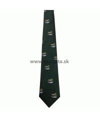 Poľovnícka kravata HEDVA - kačica a kačer č. 51