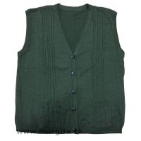 Pánska poľovnícka pletená vesta
