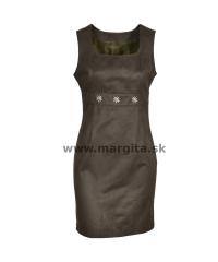 Dámske šaty FREDERIKA - zelené