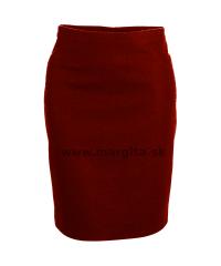 Poľovnícka sukňa LIYANA - červená