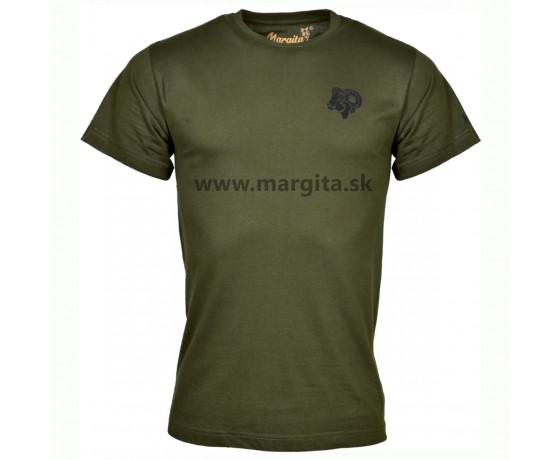 Pánske tričko MARGITA s krátkym rukávom - muflón