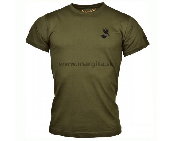 Pánske tričko MARGITA s krátkym rukávom - srnec