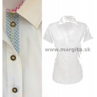 Dámska košeľa DÁŠA - krátky rukáv