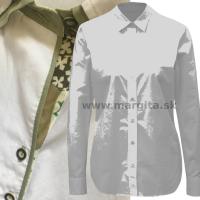 Dámska košeľa IVONA - dlhý rukáv