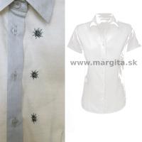 Dámska košeľa TRUBAČI - krátky rukáv