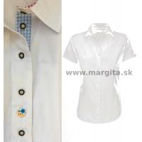 Dámska košeľa COLOR - krátky rukáv