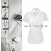 Dámska košeľa MARÍNA 2 - krátky rukáv