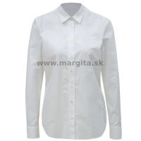 Dámska košeľa biela MARGITA - dlhý rukáv