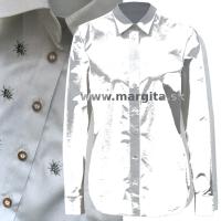 Dámska košeľa TRUBAČI - dlhý rukáv