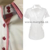 Dámska košeľa VIKTÓRIA - krátky rukáv