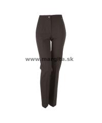 Dámske nohavice BIANKA - hnedozelené