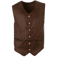 Pánska vesta FEDOR - hnedá