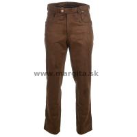 Pánske nohavice FRIDRICH - hnedé