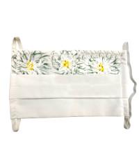 Bavlnené ochranné rúško ručne maľované