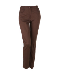 Nohavice VERONIKA hnedé