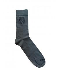 Ponožky MARGITA tenké hnedé