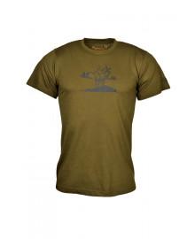 Tričko MARGITA jeleň - krátky rukáv
