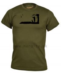Pánske tričko MARGITA s krátkym rukávom - poľovník