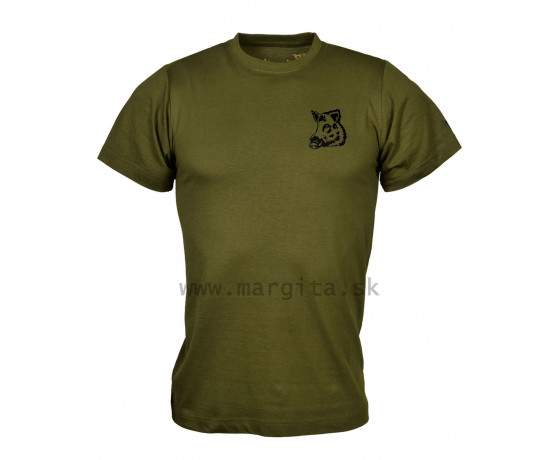 Pánske tričko MARGITA s krátkym rukávom - diviak