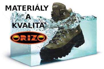 Orizo-materiály a kvalita obuvi